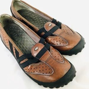 Privo Clarks Leather Mary Jane Comfort Flat 7.5